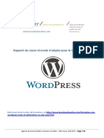 Mode Emploi CMS Wordpress