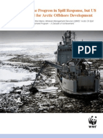 Us Imp Reparation in Case of Oil Spill in the Arctic