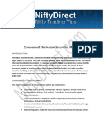 Overview of the Indian Securities Market