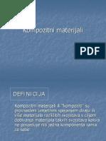 Materijali II Kompozitni Materijali(Predavanja Spanicek)
