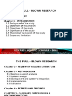 Research Writing Seminar Template