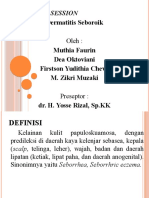 Case Report Session Dermatitis Seboroik