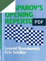 KASPAROV'S OPENING REPERTOIRE.pdf