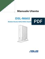 DSL-N66U Manual Italian