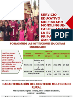 Servicio Educativo Multigrado