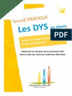 Guide Les Dys en Classe