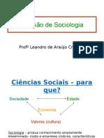 Revisão Vestibular Sociologia