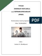 Tugas PKN Intisari film soekarno dan biografi para tokoh