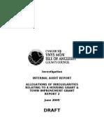 June, 2009 - Draft Report 2 Redacted)