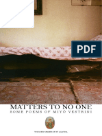 Matters to No One 31