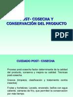 3. Poscosecha y Conservacion