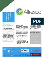 Gestion de Correspondencia Alfresco - Radar