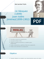 Diapositiva Del Gobierno de Horacio Vasquez y Juan Isidro Jimenez