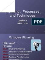 Planning  Processes and Techniques 41.ppt