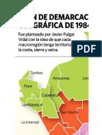 Regionalizacion Transversal Del Peru
