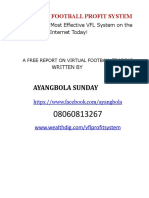 Free Report on Virtual Football Trading.pdffree Report on Virtual Football