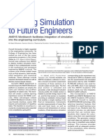 Teaching Simulation to Future Engineers