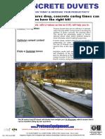 Concrete Duvet Brochure