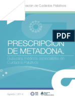 Guia Prescripción Metadona INC 2014