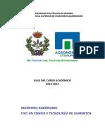 GUIA-2013-2014 IngAgronomo TecnologAlimentos 20-9-13