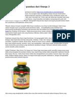 Savi biji, lain besar pasokan dari Omega 3