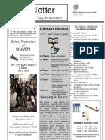 Newsletter 4 _ 5 March 2010