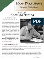 Carmina Burana Study Guide