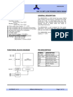 32x8 SRAM Datasheet