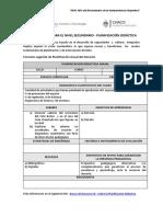 Planificacion Didactica y Secuencias Didacticas Ed 2016