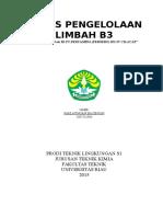Tugas Pengelolaan Limbah b3