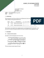 Encode Section Mark in Sharda