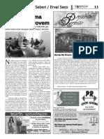 Festa Literária de Seberi (FLiS) - Notícia no jornal O Especial