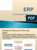 Enterprise resource plannning
