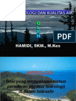 Daur Hidrologi Dan Kualitas Lingkungan Pskg