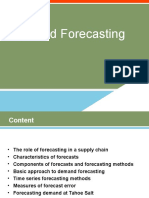 Demand Forecasting 3&4