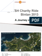 TTSH Charity Ride 2013 Presentation