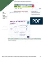 Proceso de Investigación Científica (Método General) - Monografias