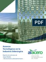 Avances Tencologicos en Industria Del Acero