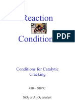 Reaction Conditions for Organic Compounds