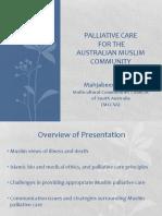 Palliative Care for the Australian Muslim Community