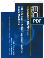 Europol Presentation on Operation Onymous