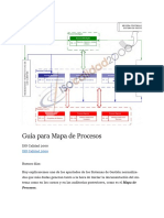 Guía Para Elaborar Mapa de Procesos
