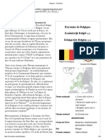 Belgique en france