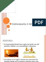 Topografía y Petróleo
