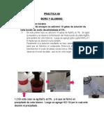 Práctica n9 Boro y Aluminio -Ino 2