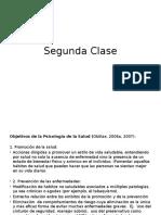 psicologia de la saluda 2 clase