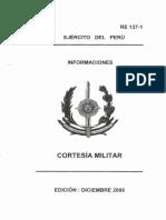 7 Re 137-1 Cortesia Militar