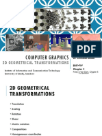 Computer Graphics, Chapter 4