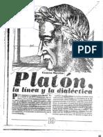 Cesario Morales - Platón, la línea y la dialéctica
