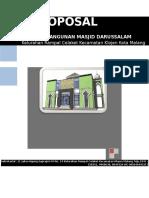 Proposal Pembangunan Masjid Darussalam